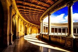 1галереи Альгамбры