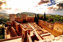 3Крыши Альгамбры