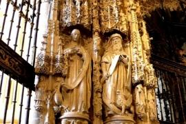 колонны собора в Бургосе