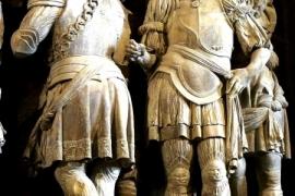 статуи собора в Бургосе