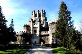 дорога к замку Бутрон