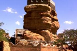 мощный замок Хаджар