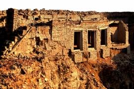 развалины форта Деравар