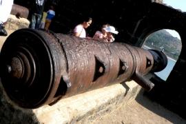 мощные пушки Джанджиры