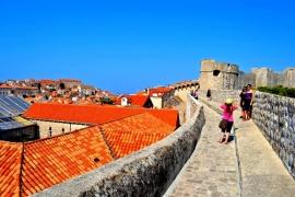 стены крепости Дубровник