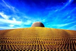 небо над храмом Дхаммакая