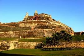 Картахена, крепость Сан-Фелипе