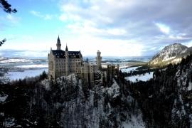 окрестности замка Нойшванштайн