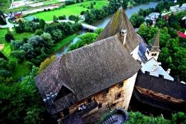 Крыши Оравского замка