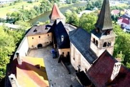стены Оравского замка