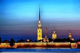виды Петропавловской крепости
