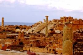 древний город Сабрата