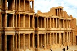 колонны Сабраты
