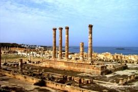 развалины Сабраты