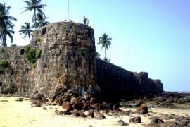 тропический форт Синдхудург