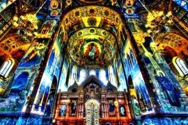 интерьер-храма-Спаса-на-Крови