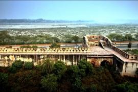 вид на форт Агра