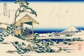 Снежное утро на реке Коисикава