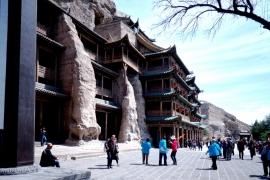 туристы Юньгана