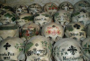 скелеты оссуария