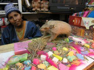 торговка на рынке Ла-Паса