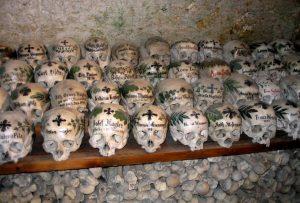раскрашенные черепа