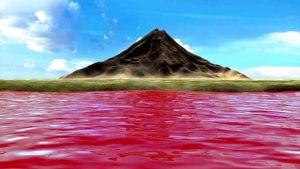 гора богов и озеро натрон