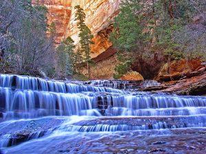 водопады Зайон