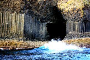 у входа в фингалову пещеру