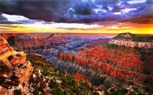 буйство красок гранд каньона
