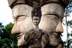 двуликий будда