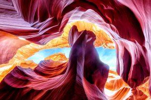 фиолетовые горы