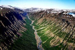 каньон плато путорана