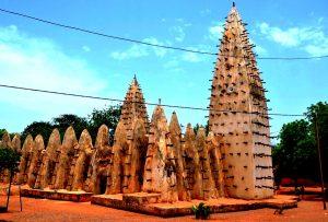 суданская мечеть буркина фасо
