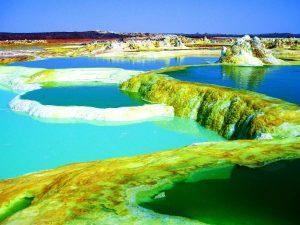 кислотные озера даллола
