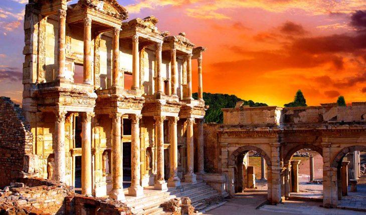 руины эфеса