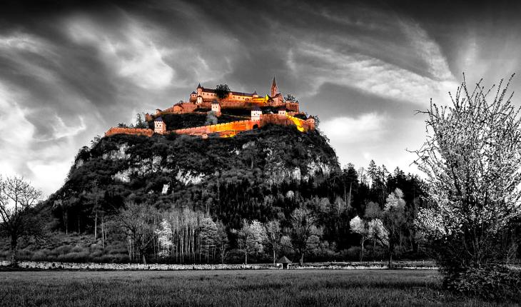 замок хохостервитц