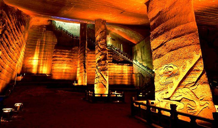 пещеры лунъю